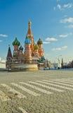 Kathedrale des Heilig-Basilikums, Russland lizenzfreie stockfotografie