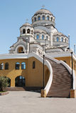 Kathedrale des Heiligen Antlitzes von Christus der Retter Lizenzfreies Stockbild