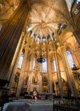 Kathedrale des Heiligen Eulalia Stockbild