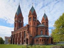 Kathedrale des Heiligen Michael Archangel in Chernyakhovsk, Russland Lizenzfreies Stockfoto