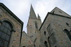 Kathedrale des Heiligen Vincent de Saint-Malo, Bretagne, Frankreich lizenzfreie stockfotografie