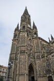 Kathedrale des Schnitzer-Schäferhunds (San Sebastian, Spanien) Stockbilder