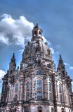 Kathedrale in Dresden Stockbilder