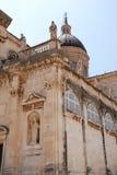 Kathedrale in Dubrovnik lizenzfreie stockbilder