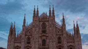 Kathedrale Duomodi Mailand stock footage