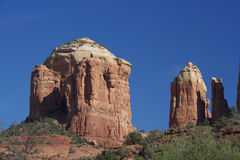 Kathedrale-Felsen, Sedona Arizona Stockbild