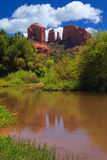 Kathedrale-Felsen in Sedona, Arizona Stockbild