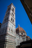 Kathedrale in Florenz, Toskana, Italien Stockfotos