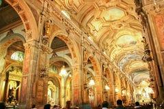 Kathedrale FO Santiago FO Chile Stockfotografie
