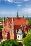 Kathedrale in Frombork, Polen Stockfotografie
