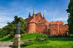 Kathedrale in Frombork, Polen Lizenzfreies Stockbild