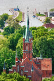 Kathedrale in Frombork, Polen Stockfotos