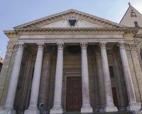 Kathedrale in Genf Stockfotografie