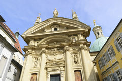 Kathedrale Graz Österreich Stockbild