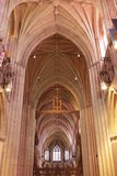 Kathedrale Hall Ceiing Window Lizenzfreie Stockbilder