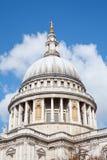 Kathedrale-Haube London Str.-Paul Lizenzfreie Stockfotos