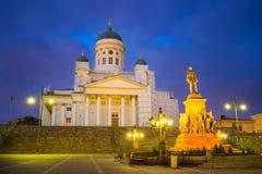 Kathedrale in Helsinki, Finnland Lizenzfreie Stockbilder