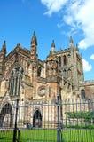 Kathedrale, Hereford Stockfotografie