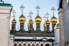 Kathedrale im Kreml, Moskau Lizenzfreies Stockfoto