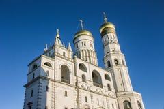 Kathedrale im Kreml, Moskau Lizenzfreies Stockbild