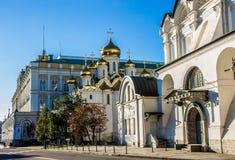 Kathedrale im Kreml, Moskau Stockfotos