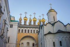 Kathedrale im Kreml, Moskau Lizenzfreie Stockbilder