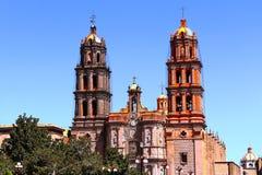 Kathedrale IV San Luis Potosi stockfotografie
