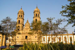 Kathedrale Jalisco Mexiko Guadalajaras Zapopan Catedral Lizenzfreie Stockfotografie