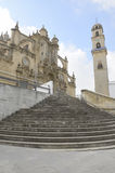Kathedrale in Jerez Lizenzfreie Stockfotos