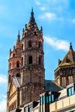 Kathedrale Kaiserdom in den Würmern, Deutschland Lizenzfreies Stockfoto