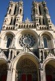 Kathedrale in Laon (Frankreich) Lizenzfreie Stockbilder