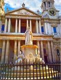Kathedrale London Str stockbilder