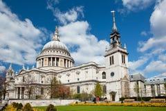 Kathedrale London Str.-Paul Lizenzfreie Stockfotos