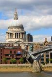 Kathedrale London Str.-Pauls Stockfotografie