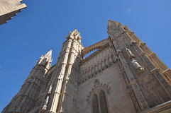 kathedrale Mallorca palma Obraz Stock
