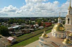 Kathedrale mit Glockenturm Lizenzfreies Stockfoto