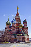 Kathedrale Moskaus StBasils stockbild