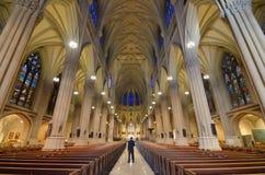 Kathedrale New York Str.-Patricks stockfotos