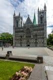 Kathedrale Nidaros Lizenzfreies Stockfoto