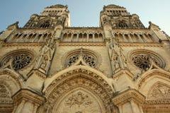Kathedrale in Orleans (Frankreich) Stockbilder