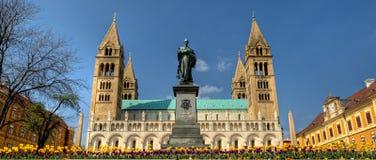 Kathedrale Pécs - Ungarn Lizenzfreies Stockfoto