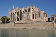 Kathedrale in Palma, Mallorca Stock Afbeelding