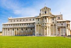 Kathedrale in Pisa Italien lizenzfreie stockfotos