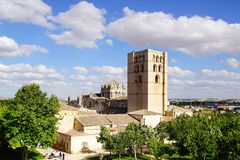 Kathedrale, romanische Art Stockfoto