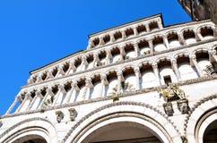 Kathedrale San Michele Lucca, Stockbilder