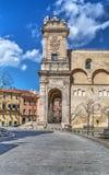 Kathedrale Sans Nicola in Seitenansicht Sassari Lizenzfreies Stockfoto