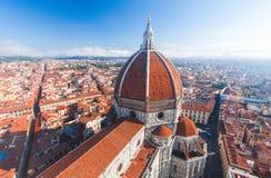 Kathedrale Santa Maria Del Fiore in Florenz lizenzfreie stockbilder
