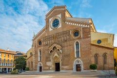 Kathedrale Santa Maria Maggiore in Udine stockfotografie