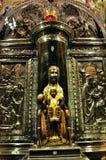 Kathedrale schwarzes Madonna Stockbild