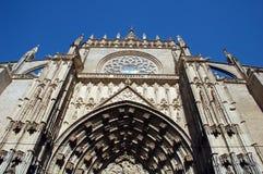 Kathedrale in Sevilla Stockfotografie